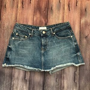 Zara Woman | Premium Denim Jean Skort Shorts